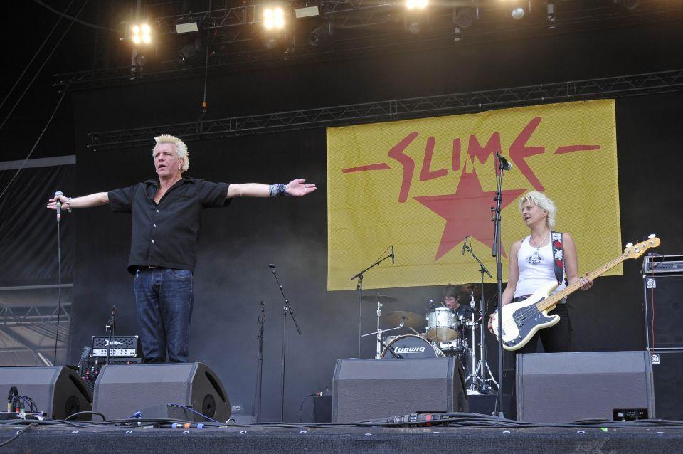 Konzert der Band Slime