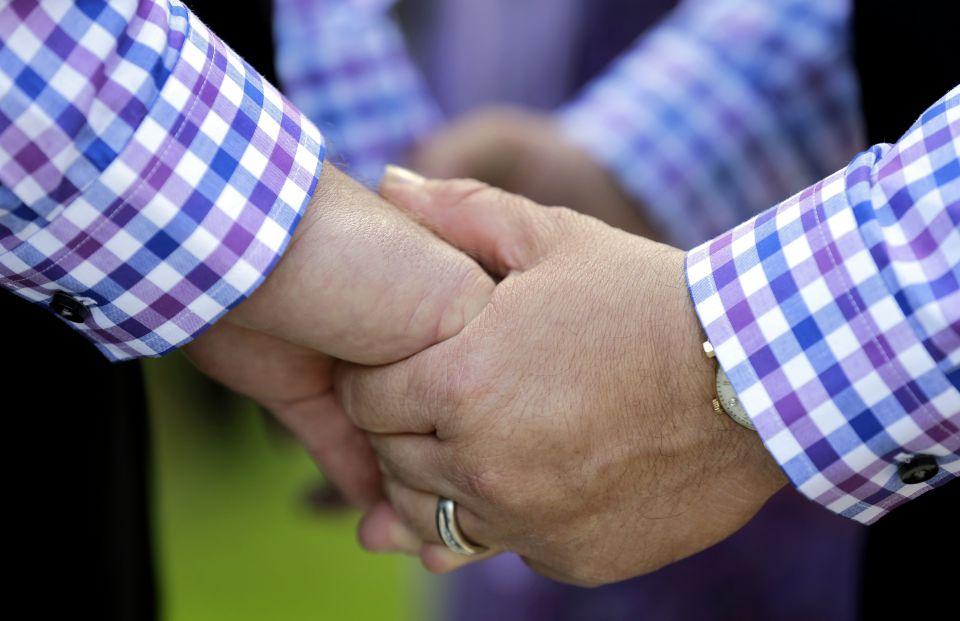 Schwules Ehepaar (Symbolfoto)