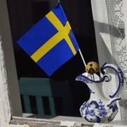 Schwedische Flagge: Rückzug nach verweigertem Handschlag Foto:  picture alliance/Arco Images GmbH