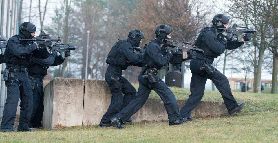 Eliteeinheit der Polizei