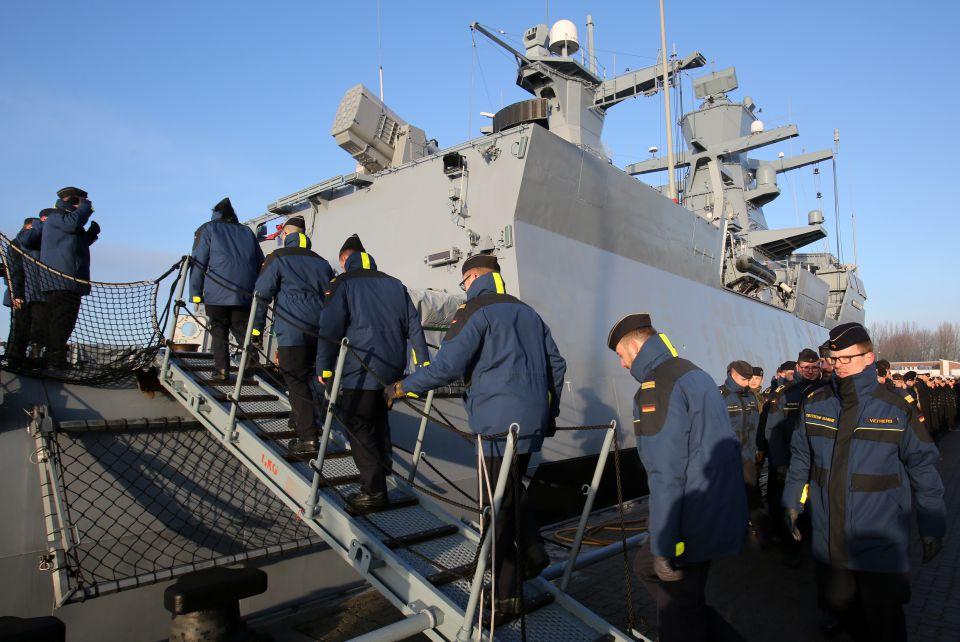 Deutsches Kriegsschiff