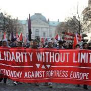 Anti-Pegida-Protest in Dresden: Das Schöne an der Empörung ist - man braucht keine Logik Foto:  picture alliance / NurPhoto