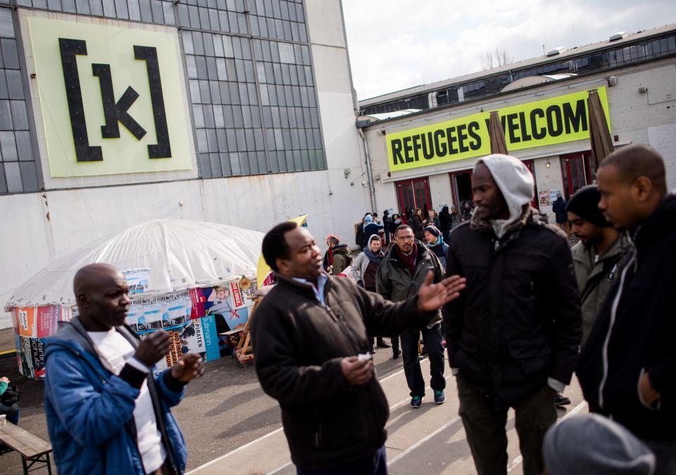 Asylbewerber in Hamburg (Symbolbild)