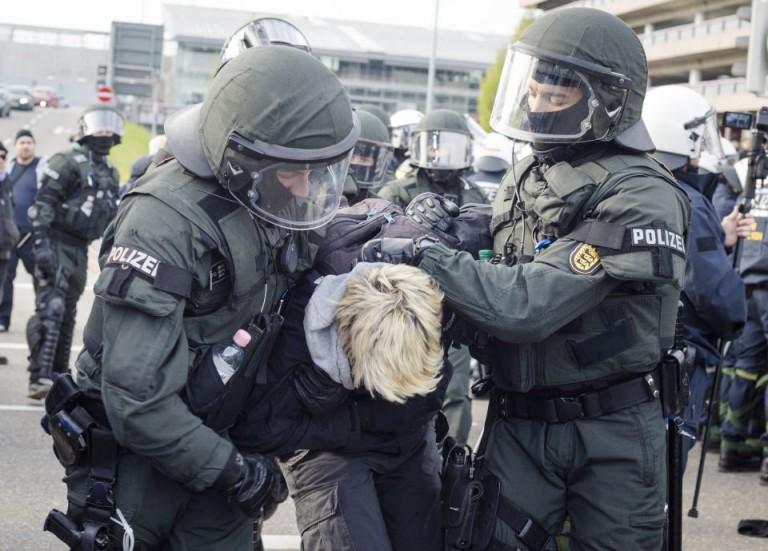 Linksextremist wird festgenommen