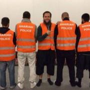 """""""Scharia-Polizei"""" : Teilnehmer nun doch vor Gericht Foto: picture alliance / ROPI"""