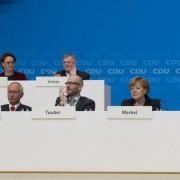 Bundesparteitag der CDU 2015: Ein politisches Vakuum für die AfD Foto: picture alliance / Sven Simon