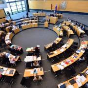Landtag in Thüringen: Kritik an Gender-Zwang Foto: dpa