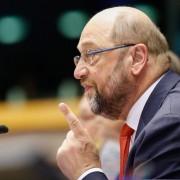 Martin Schulz: Sieht EU in Gefahr Foto: dpa