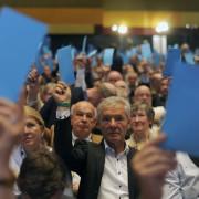Parteitag in Stuttgart Foto: dpa