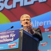 AfD-Sprecher Jörg Meuthen: Kritik an Kirchenpolitik Foto: dpa