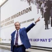 Nigel Farage im Wahlkampf: Erfolg in Wales Foto: picture alliance/AA