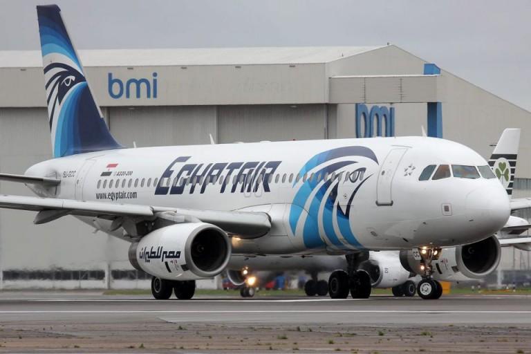 Egyptair-Maschine