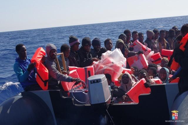Afrikaner auf dem Mittelmeer