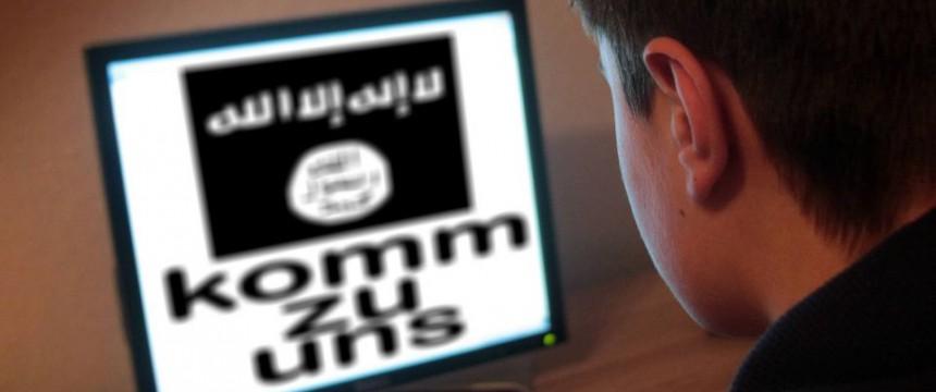 Anwerbeversuch des IS (Symbolbild): Imam soll für IS rekrutieren Foto: picture alliance/chromorange