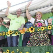 Grünenpolitiker auf dem CSD in Köln Foto: picture alliance/BREUEL-BILD