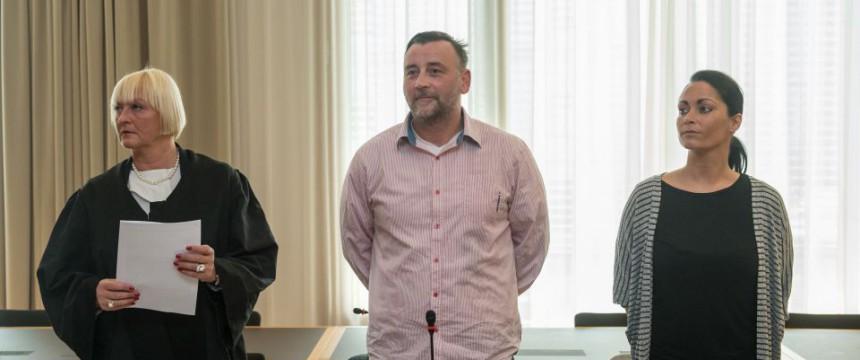 Lutz Bachmann vor Gericht Foto: picture alliance/dpa
