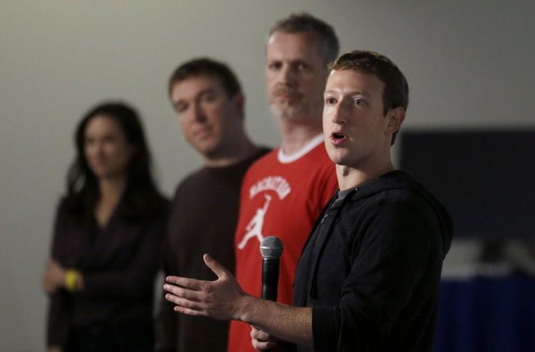 Marc Zuckerberg und FacebookManager