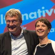 AfD-Sprecher Jörg Meuthen und Frauke Petry Foto: picture alliance/dpa