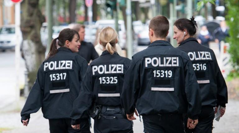 Polizisten Berlin