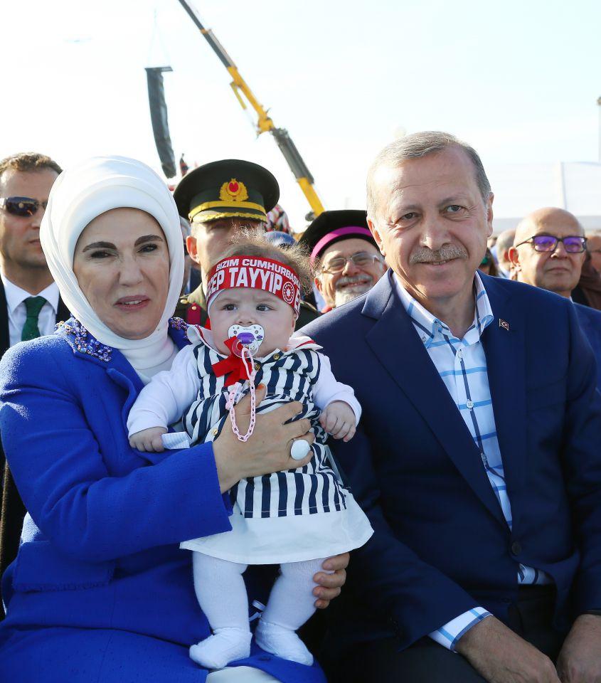 Erdogans Frau