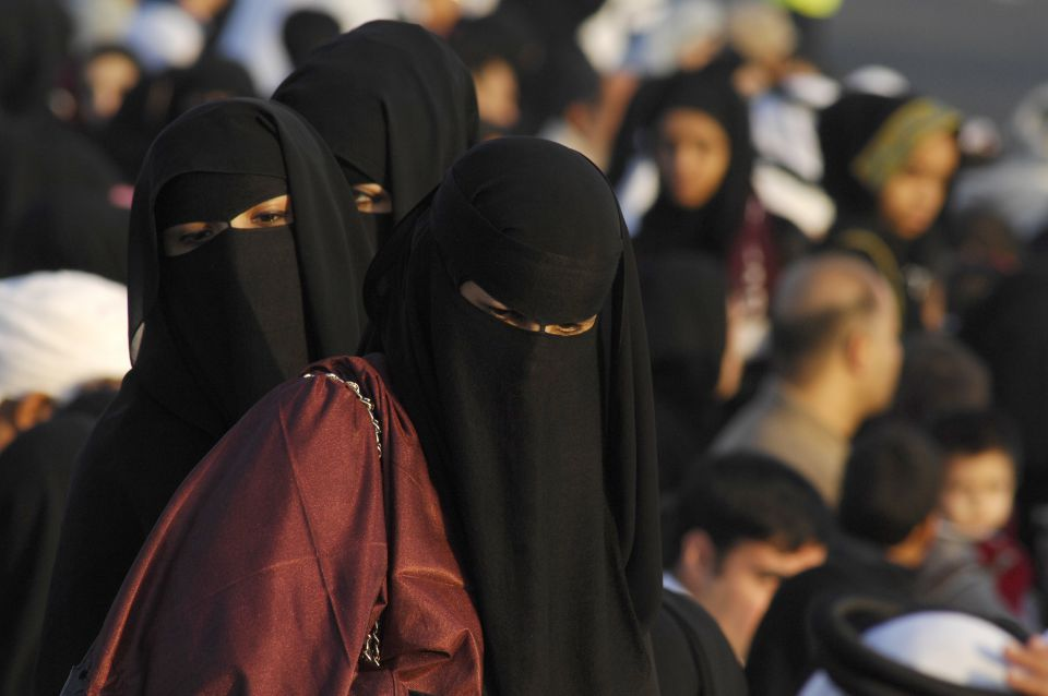 Mosleminnen in Doha