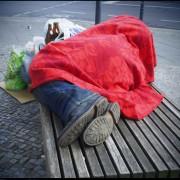 Obdachloser in Berlin: Eine Stadt im Niedergang Foto: picture alliance / Wolfram Steinberg