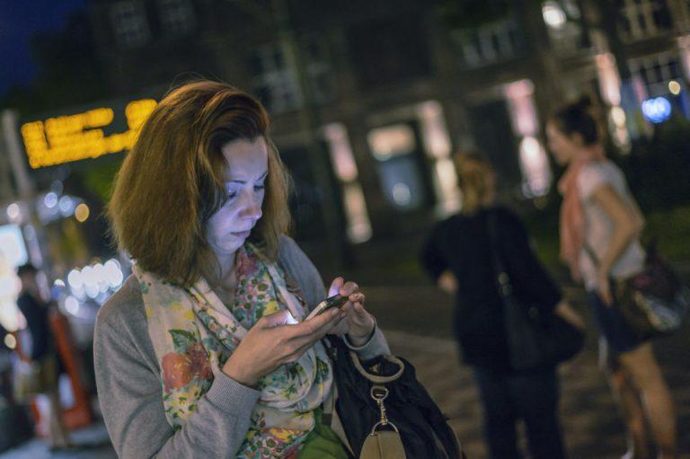 Frau in Berlin