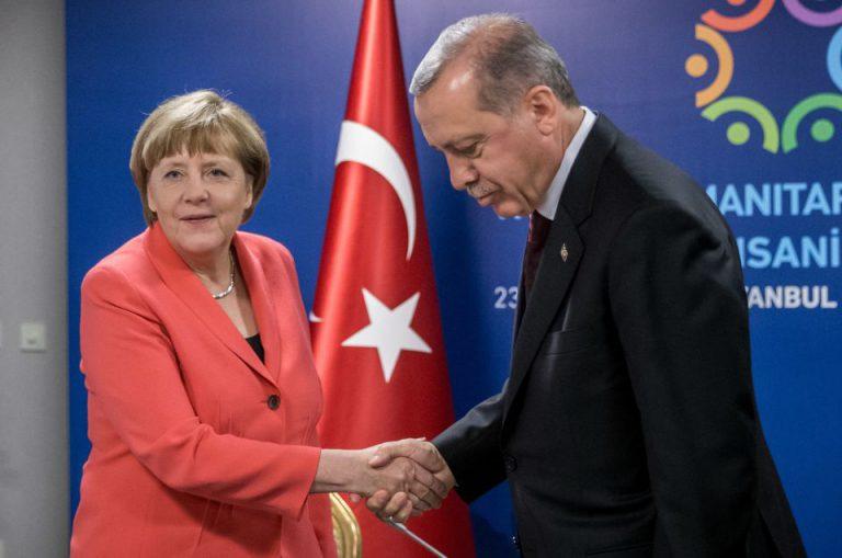 Angela Merkel und Recep Tayyip Erdogan