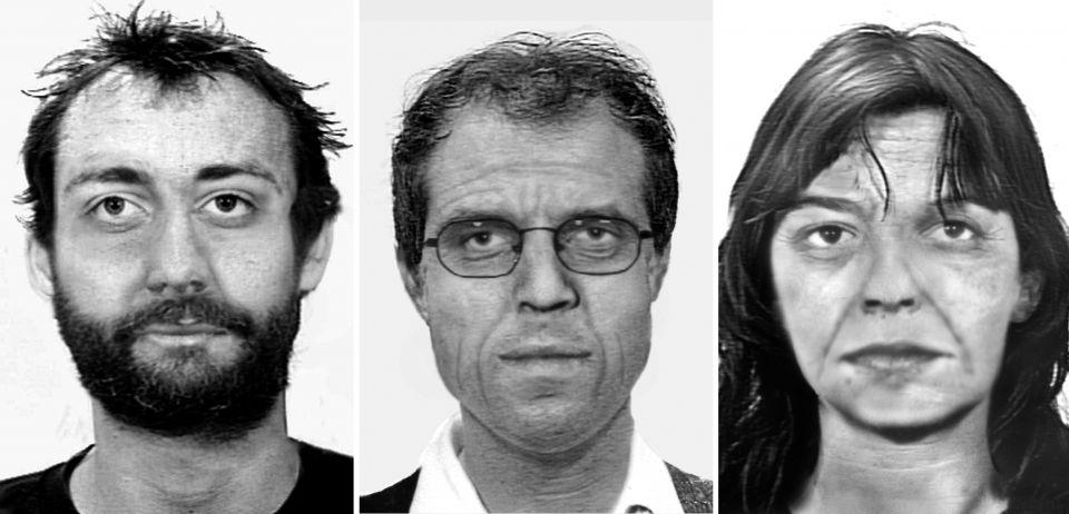 Ernst-Volker Staub, Burkhard Garweg und Daniela Klette