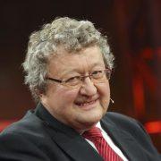 """Der Politikwissenschaftler Werner Patzelt in der ARD-Sendung """"Günther Jauch"""" Foto: picture alliance/ZB"""