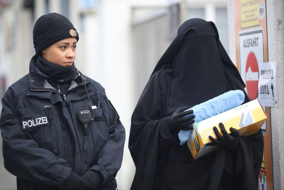 Polizei Burka