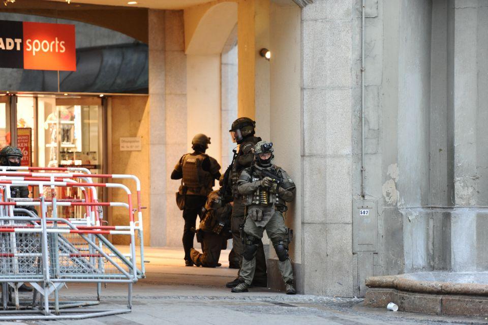160722Polizeieinsatz München