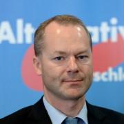Matthias Manthei: Anschlag auf AfD-Politiker Foto: dpa