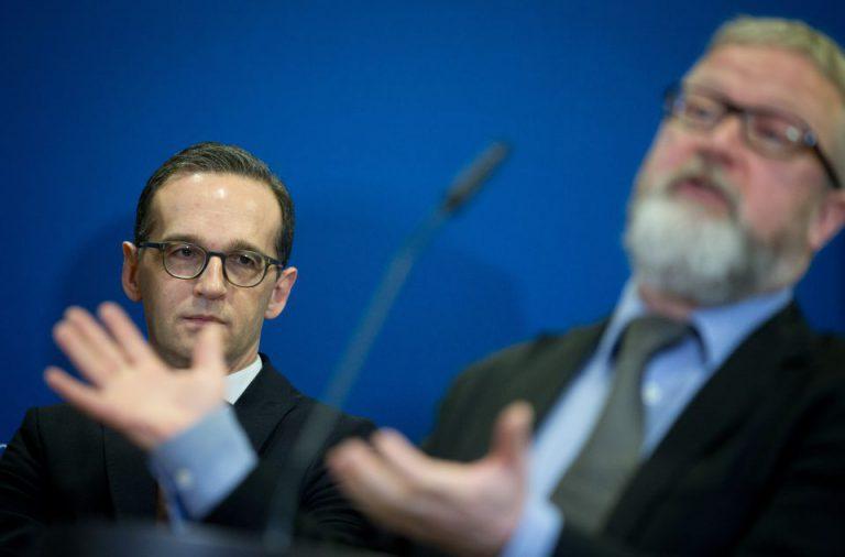 Heiko Maas und Richard Allen