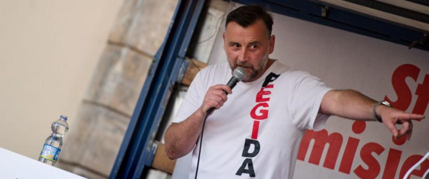 Lutz Bachmann: Pegida gründet eigene Partei Foto: dpa