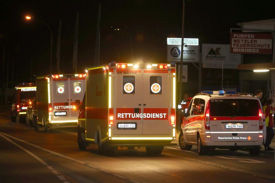 Rettungsfahrzeuge