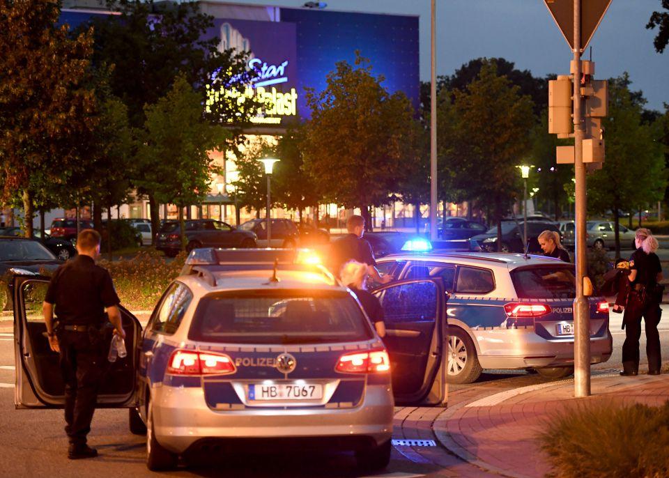 Großeinsatz der Polizei in Bermen