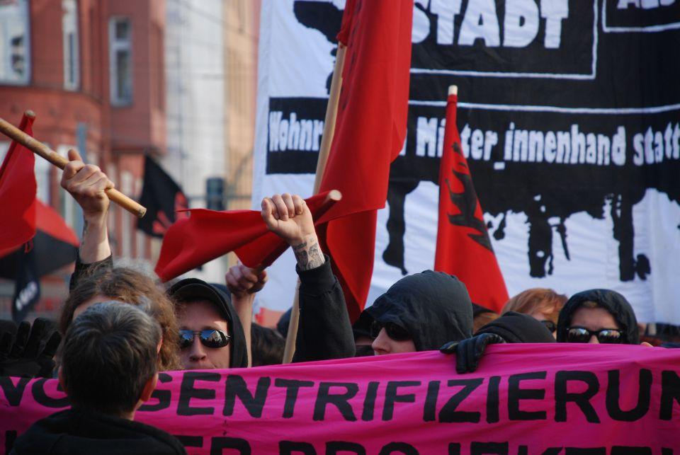 Linksextremisten in Berlin