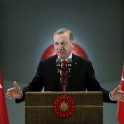 Der türkische Präsident Recep Tayyip Erdogan picture alliance/AP Images