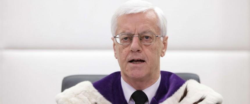 Der Präsident des österreichischen Verfassungsgerichtshofs, Gerhart Holzinger Foto: picture alliance/APA/picturedesk.com