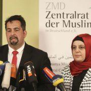 Aiman Mazyek und Nurhan Soykan vom Zentralrat der Muslime in Deutschland Foto: picture alliance/Eventpress