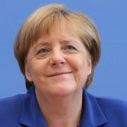 Angela Merkel vor der Bundespressekonferenz in Berlin Foto: picture alliance/dpa