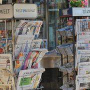 Zeitungskiosk in Berlin, Foto: rg