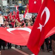 Türkische Demonstration in München im April Foto: picture alliance/dpa