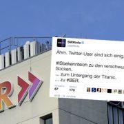 SWR-Tweet: Sender erntet Empörungswelle Foto: dpa / Montage JF