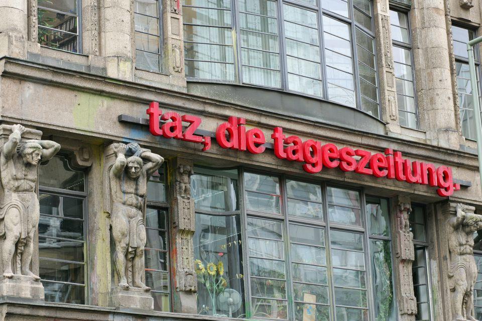 """""""taz""""-Gebäude"""