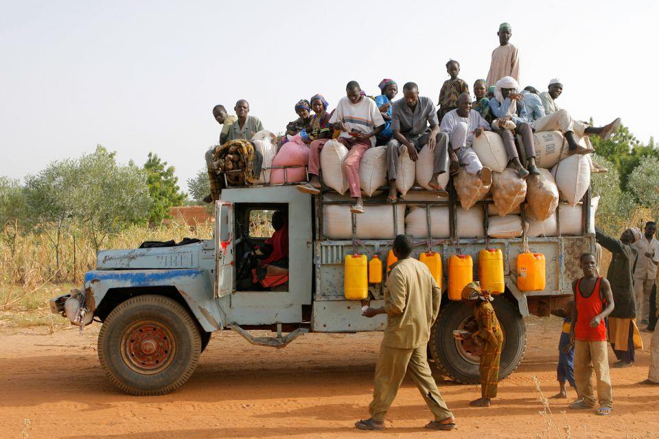 Lastwagen in Niger (Archiv)