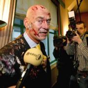 Pim Fortuyn nach einer Tortenattacke: Längst herrscht Terror gegen die AfD Foto:     picture-alliance/dpa