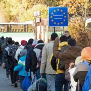 Deutsche Grenze 2015: Mehr Ausländer in Deutschland Foto: Picture alliance/dpa