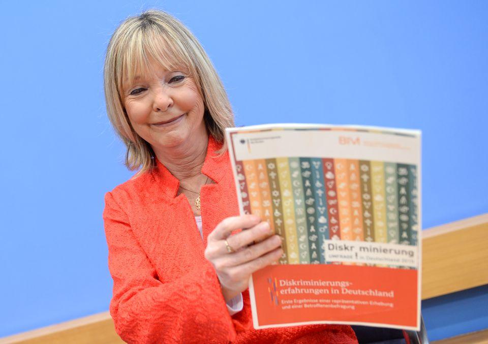 Die Chefin der Antidiskriminierungsstelle, Christine Lüders:
